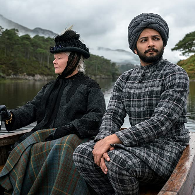 Judi Dench and Ali Fazal in Victoria & Abdul (2017)
