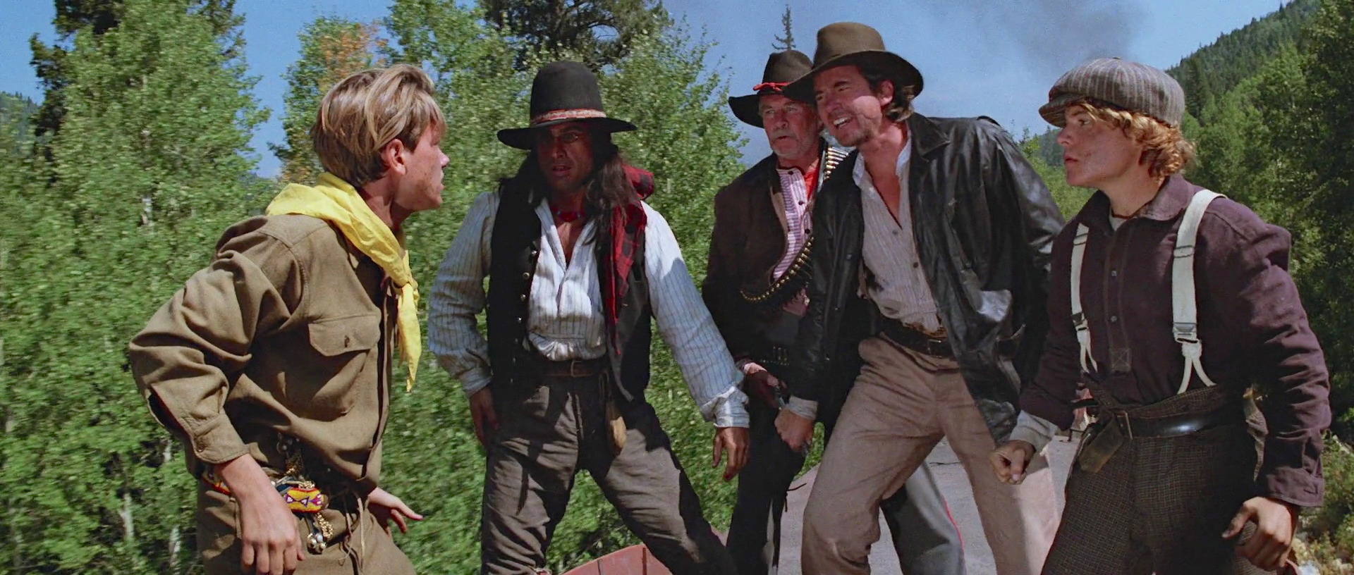 River Phoenix, Vince Deadrick Sr., Bradley Gregg, Jeff O'Haco, and Richard Young in Indiana Jones and the Last Crusade (1989)