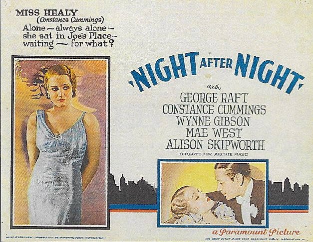 Constance Cummings and George Raft in Night After Night (1932)