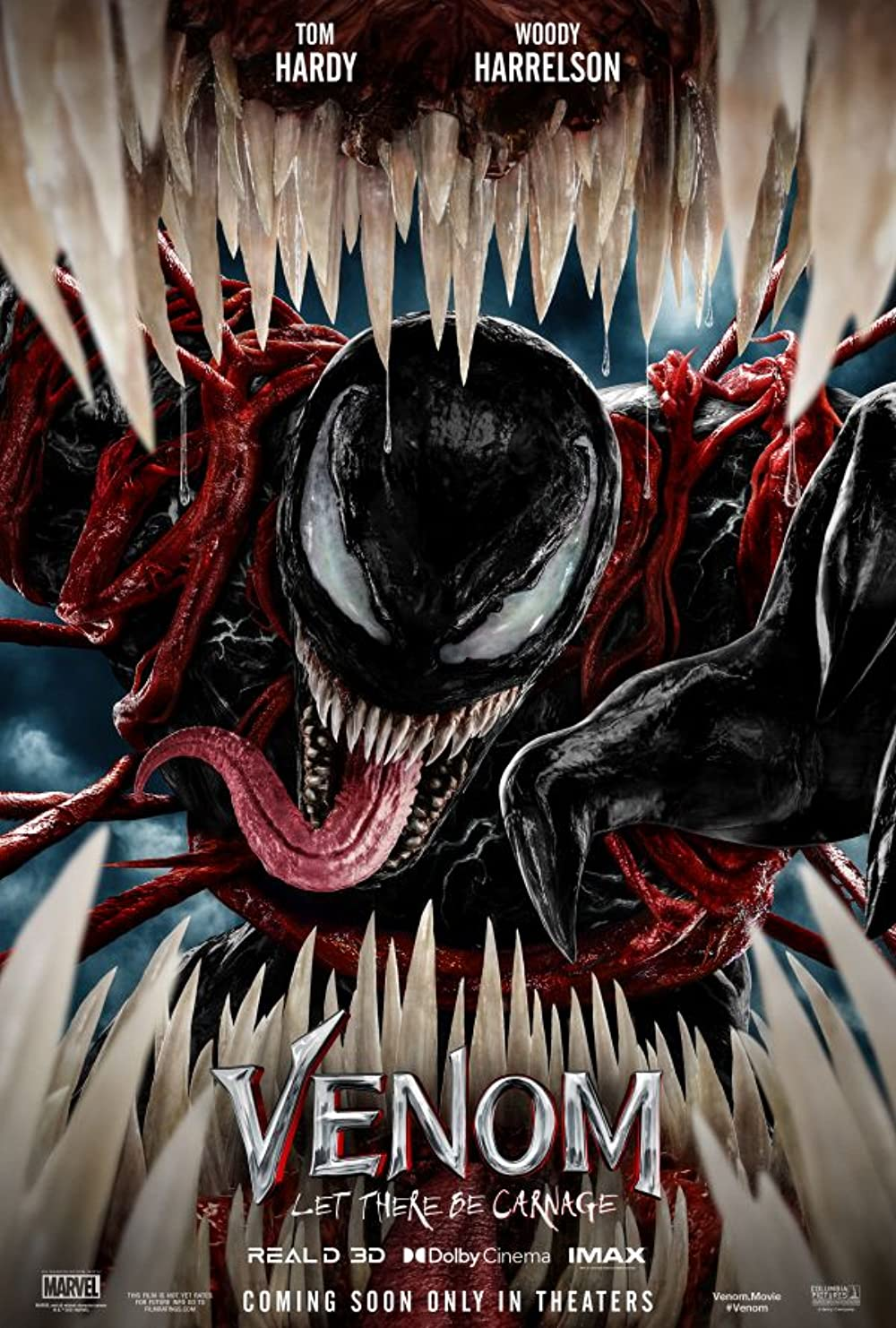 Venom Let There Be Carnage 2021 Hindi Dubbed Official Trailer 1080p HDRip 43MB Download