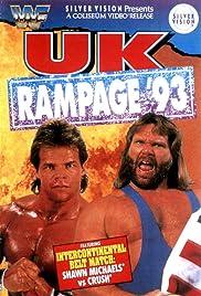 WWF: UK Rampage 93 Poster