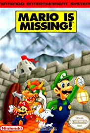 Mario Is Missing! Poster