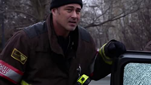 Chicago Fire: Severide, Casey And 51 Arrive At A Car Crash Where A Driver Is Pinned Under A Casket