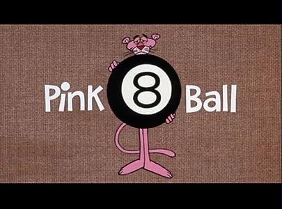 Pink 8 Ball by Art Leonardi