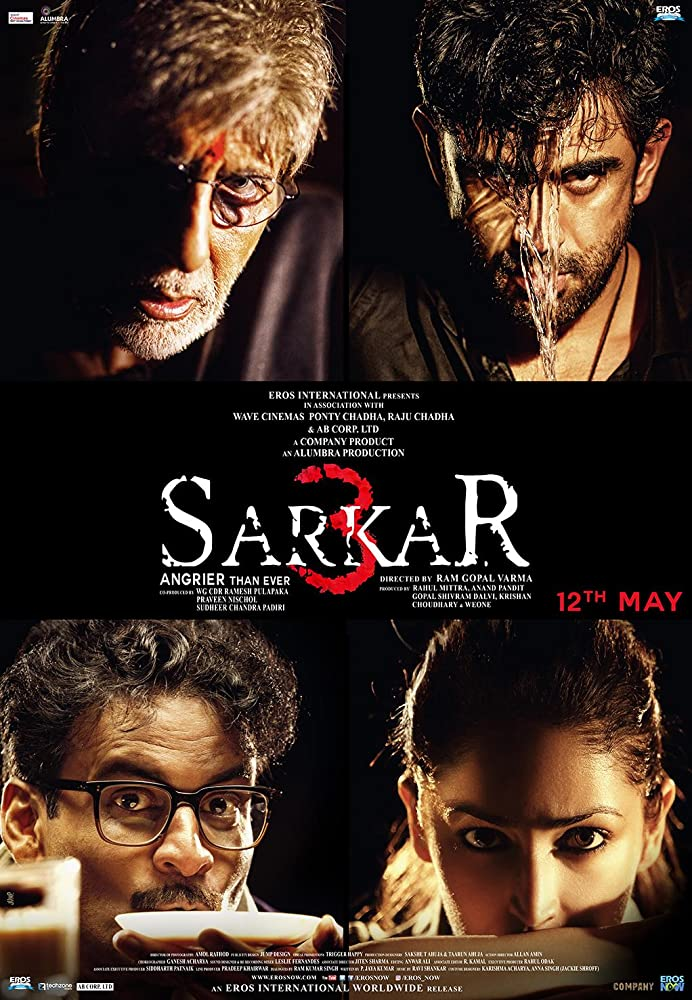 Sarkar 3 2017 Hindi 410MB HDRip ESubs Download