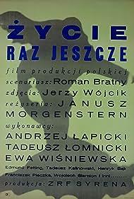 Andrzej Lapicki, Tadeusz Lomnicki, Janusz Morgenstern, and Ewa Wisniewska in Zycie raz jeszcze (1965)