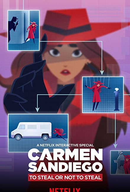 Film: Carmen Sandiego: To Steal or Not to Steal