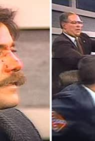 Geraldo Rivera, Roy Innis, and John Metzger in Geraldo (1987)