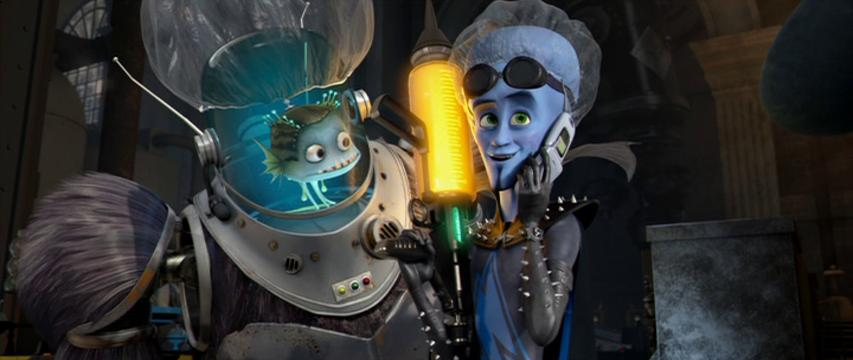 Will Ferrell and David Cross in Megamind (2010)