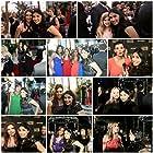 Roma Downey, Ali Landry Monteverde, Holly Robinson Peete, Cory Oliver, Kyla Kenedy, Kirstin Dorn, Erin Bethea, and Korie Robertson at an event for Faith Hollywood TV (2012)