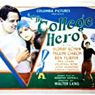 Pauline Garon and Rex Lease in The College Hero (1927)