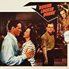 Lucille Bremer, Richard Carlson, and Douglas Fowley in Behind Locked Doors (1948)