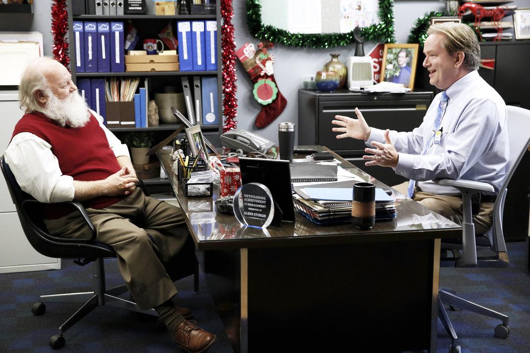 Mark McKinney and Donovan Scott in Superstore (2015)