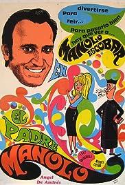 El padre Manolo Poster