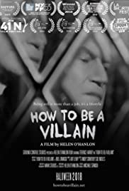 How to Be a Villain Poster