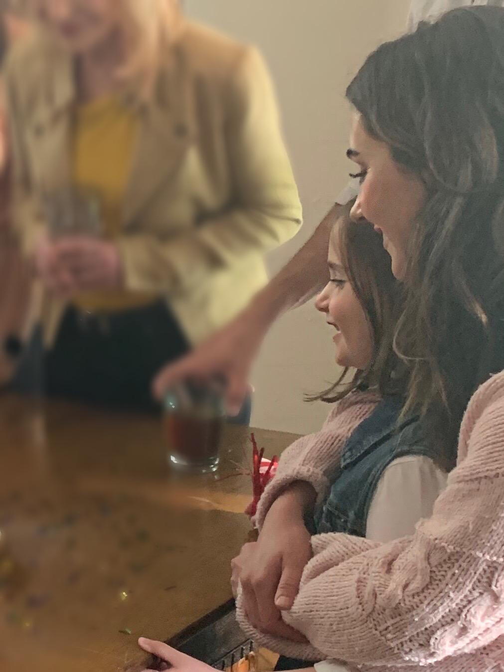 "Elizabeth Howlett on set for Matthew West's music video for ""The God Who Stays."""