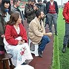 Gülhan Tekin and Gokhan Yikilkan at an event for Oflu Hoca'nin Sifresi 3 (2018)