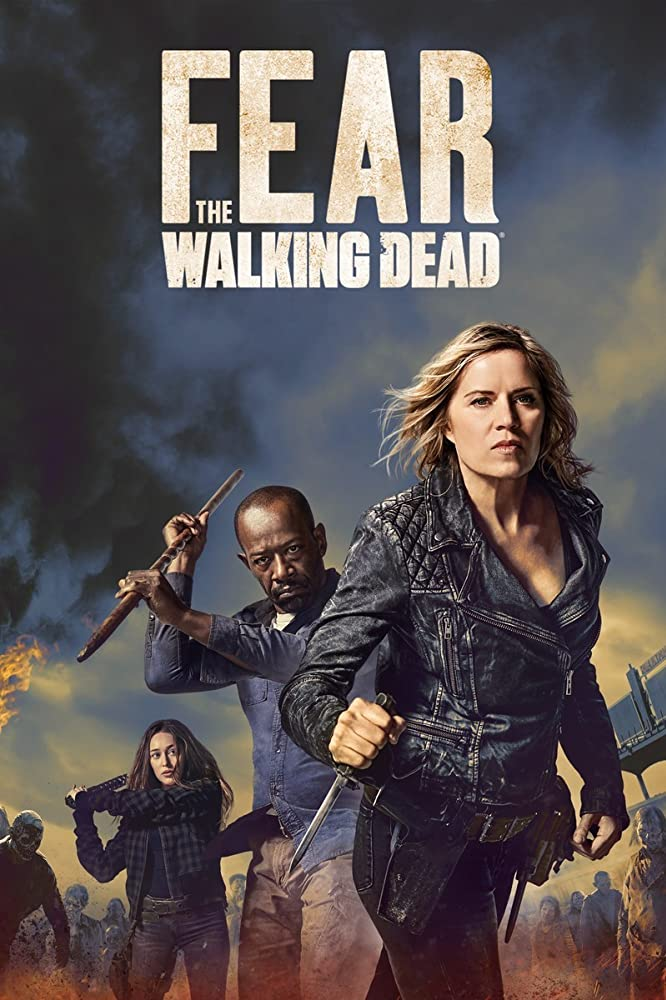 Kim Dickens, Lennie James, and Alycia Debnam-Carey in Fear the Walking Dead (2015)