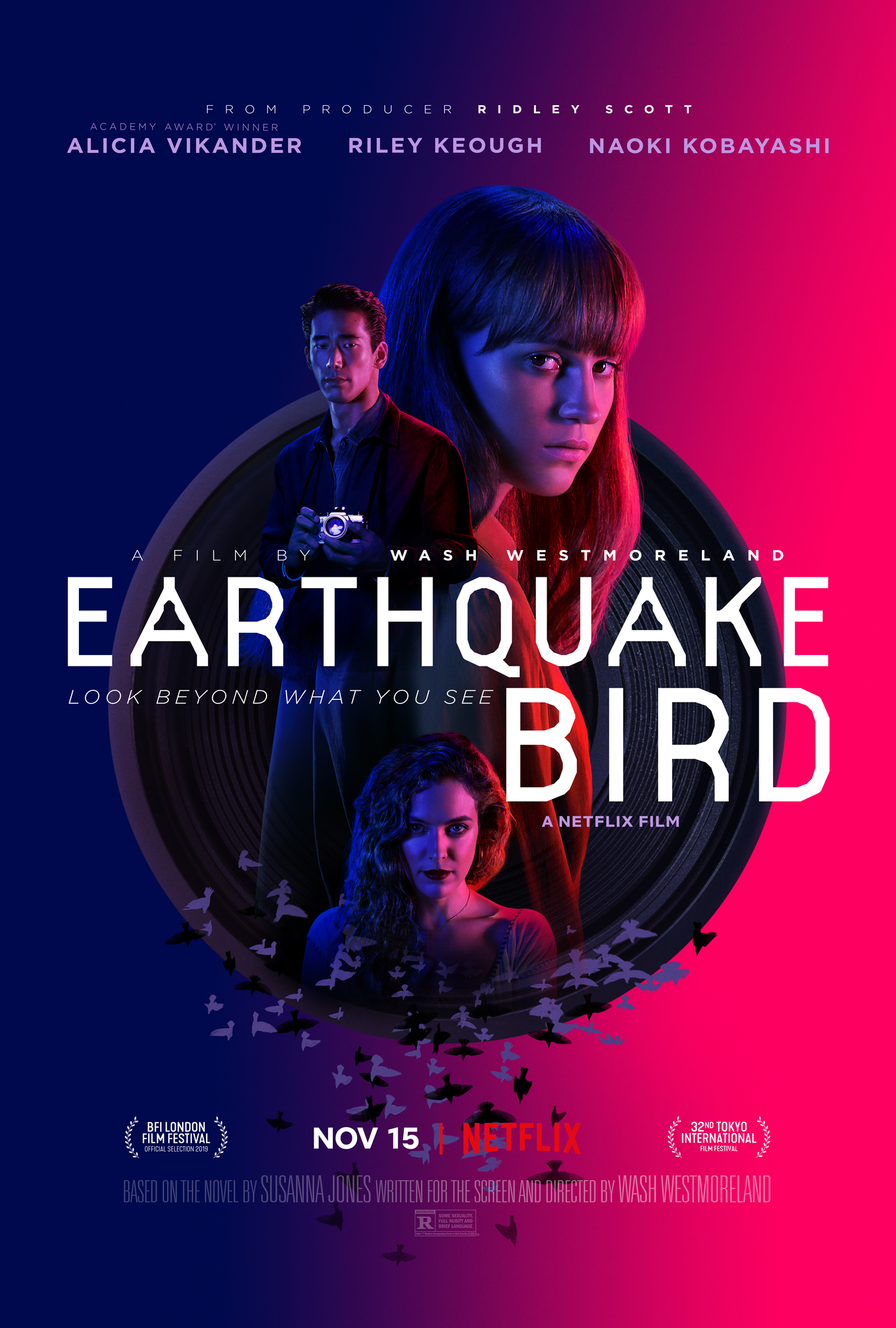 Image result for alicia vikander the earthquake bird