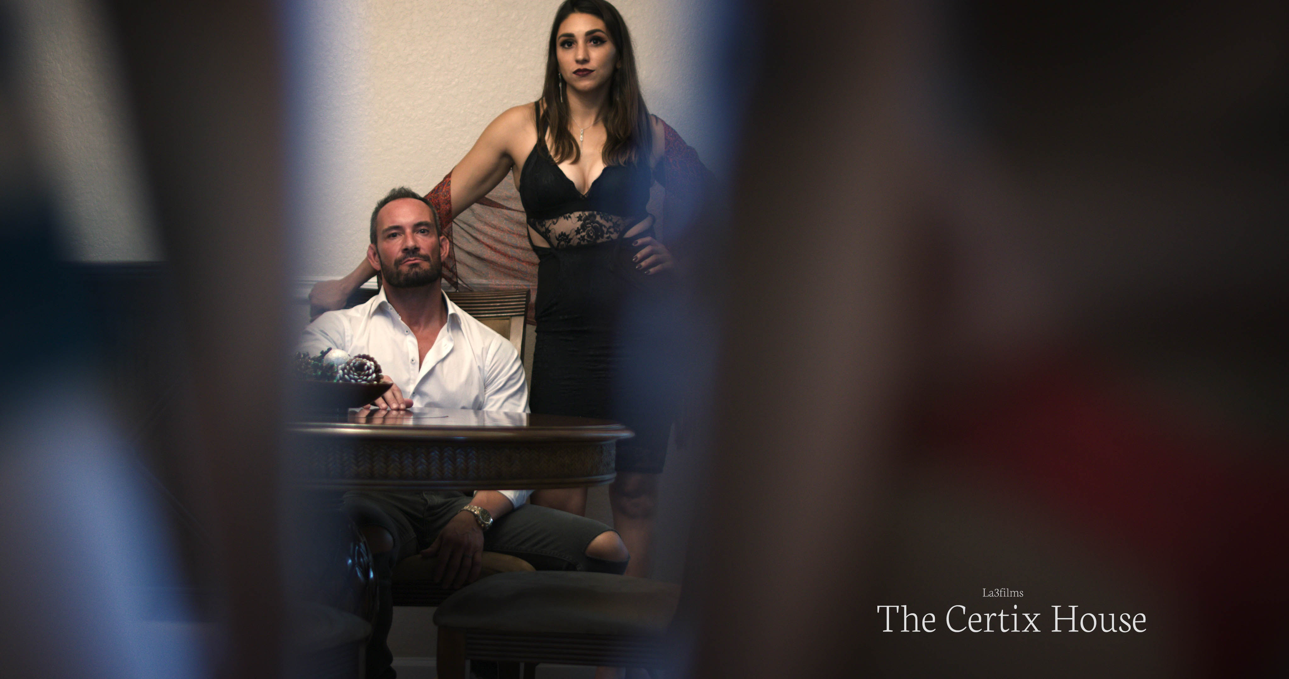 Mike McRobert and Lena Marie in The Certix House (2020)