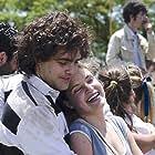 Peter Lanzani and Stefanía Koessl in El Clan (2015)