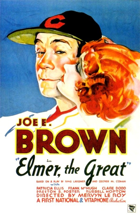 Joe E. Brown and Patricia Ellis in Elmer, the Great (1933)