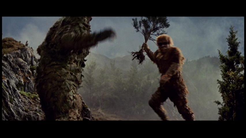 科學怪人的怪獸山達對蓋拉劇照點擊放大