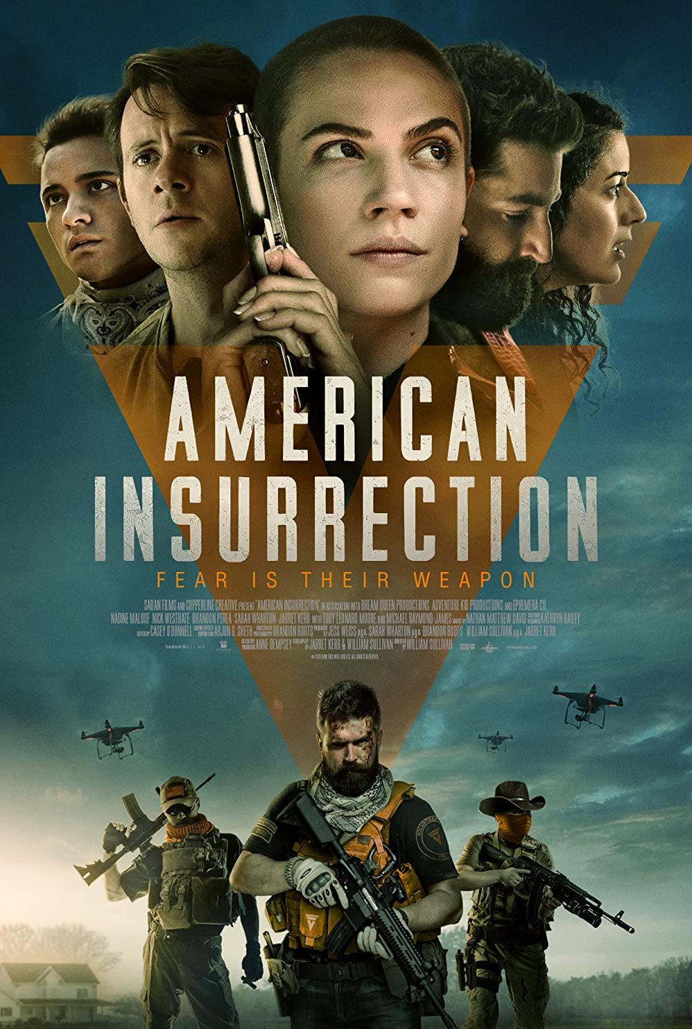 American Insurrection 2021 English Movie 1080p | 720p | 480p | AMZN HDRip ESub 1.4GB Download