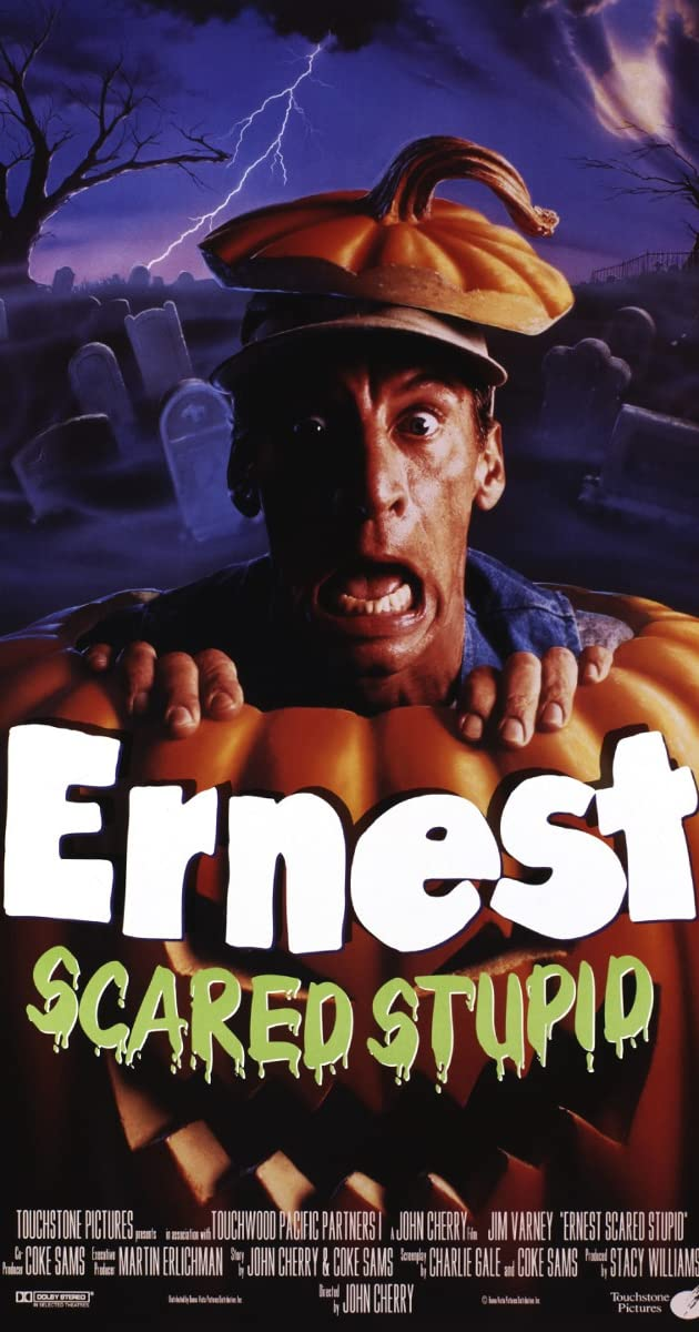 Subtitle of Ernest Scared Stupid