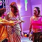 Danny Trejo, Wendy Braun, and Steele Stebbins in Donny's Bar Mitzvah (2021)