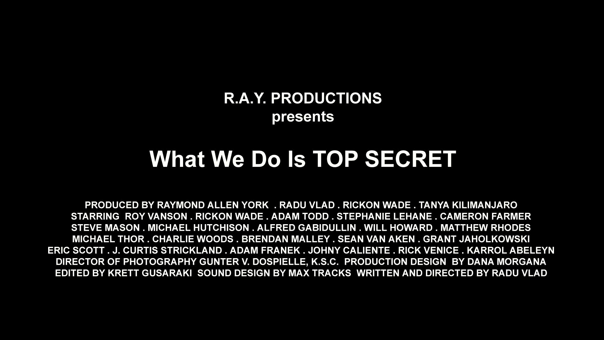 What We Do Is Top Secret sub download