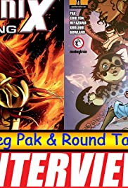 Greg Pak and Round Table with the Starz Gregg Chillin Laura Haddock Poster
