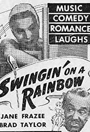 Swingin' on a Rainbow Poster