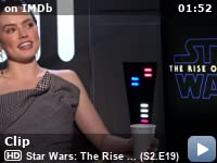 Imdb On The Scene Interviews Star Wars The Rise Of Skywalker Tv Episode 2019 Imdb