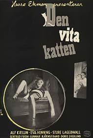 Eva Henning and Alf Kjellin in Den vita katten (1950)