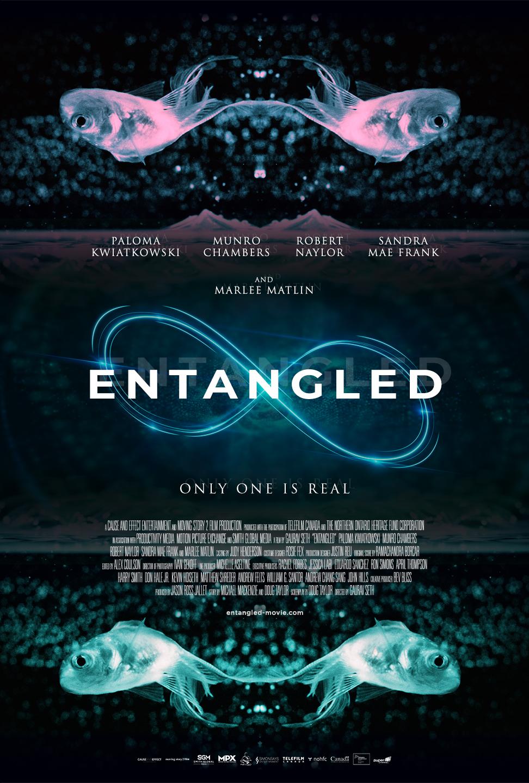 Marlee Matlin, Munro Chambers, Robert Naylor, Paloma Kwiatkowski, and Sandra Mae Frank in Entangled (2019)