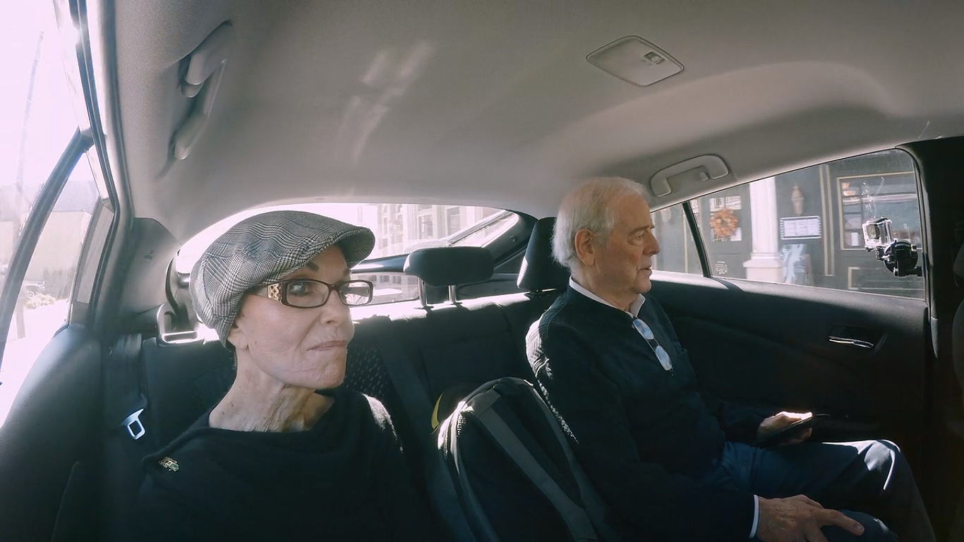 Nick Clooney and Nina Clooney in My Next Guest Needs No Introduction with David Letterman (2018)