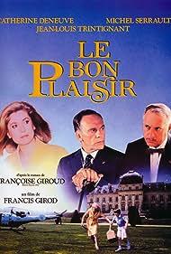 Catherine Deneuve, Jean-Louis Trintignant, and Michel Serrault in Le bon plaisir (1984)