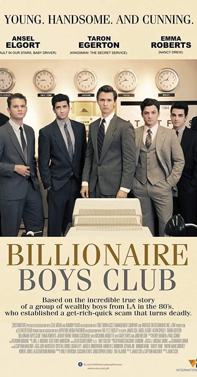 MILIJARDIERIŲ KLUBAS (2018) / Billionaire Boys Club