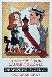 Designing Woman (1957) Poster - Movie Forum, Cast, Reviews