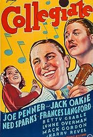 Frances Langford, Jack Oakie, and Joe Penner in Collegiate (1936)