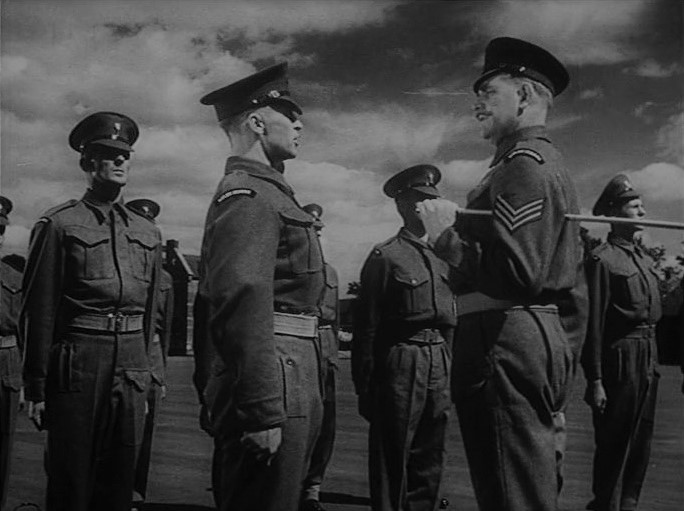 Ralph Clanton, Rufus Cruickshank, and Edward Underdown in They Were Not Divided (1950)