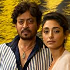 Golshifteh Farahani and Irrfan Khan at an event for The Song of Scorpions (2017)