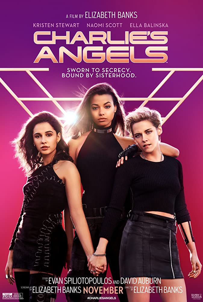 Poster film Charlie's Angels (2019).