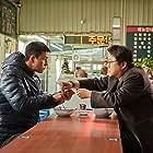 Jung Woo-sung and Kwak Do-won in Gangcheolbi (2017)