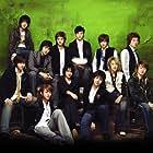 Si Won Choi, Geng Han, Ki-bum Kim, and Hee-chul Kim in Super Junior 05: Twins (2005)