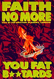 Faith No More: Live at the Brixton Academy Poster