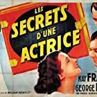 George Brent, Kay Francis, and Ian Hunter in Secrets of an Actress (1938)