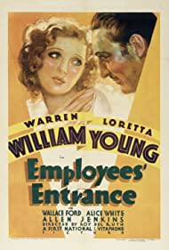 Employees' Entrance (1933) Poster - Movie Forum, Cast, Reviews