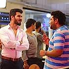 Nikhil Siddharth and T. Santhosh in Arjun Suravaram (2019)